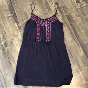 Anthropologie Sanctuary Embroidered Dress